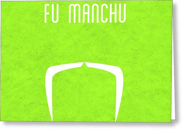 Fu Manchu Greeting Card