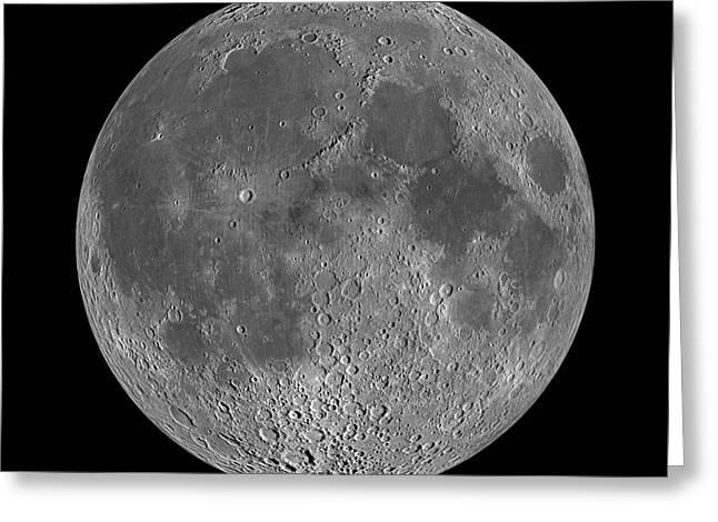 Full Moon 2 Greeting Card by Jon Neidert