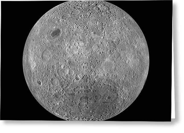 Full Moon Greeting Card by Jon Neidert