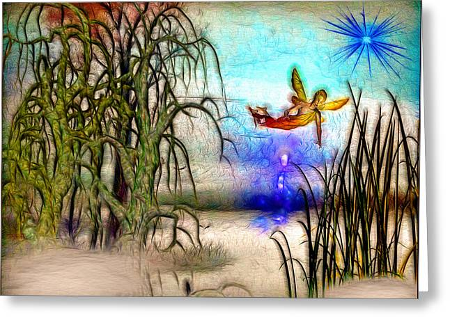 Full Of Magic Pond Greeting Card