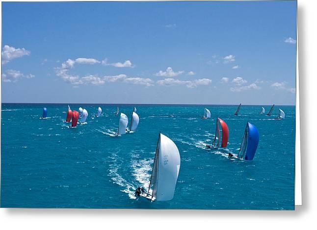 Full Sails Greeting Card