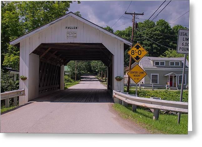Fuller Covered Bridge.  Greeting Card