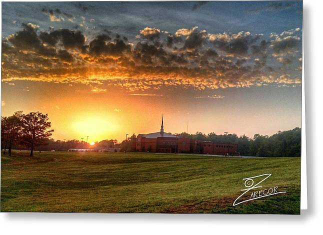 Fumc Sunset Greeting Card