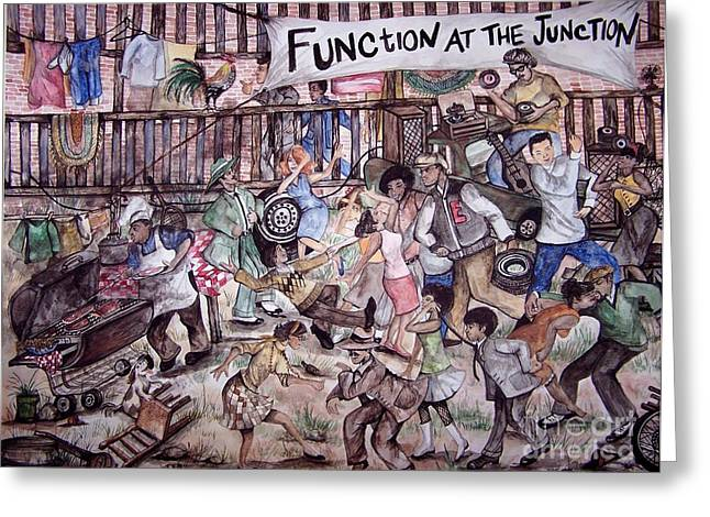Function At The Junction Greeting Card