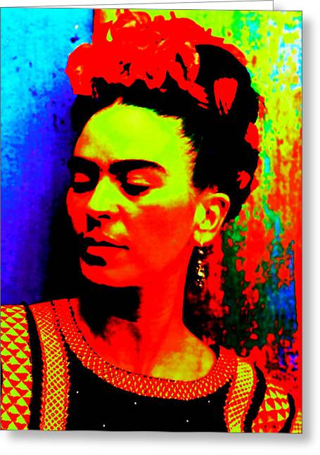 Funky Frida Greeting Card