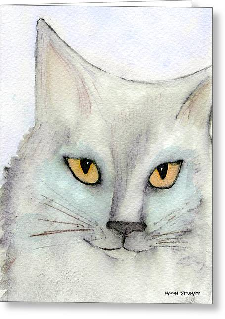 Fur Friends Series - Lizzy Greeting Card