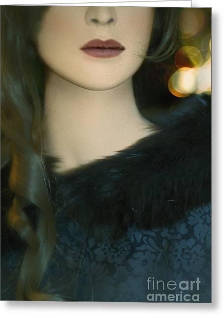 Fur Greeting Card by Margie Hurwich