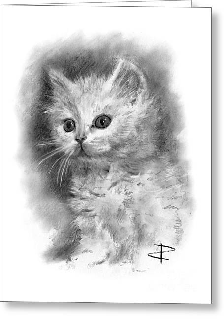 Furball Greeting Card