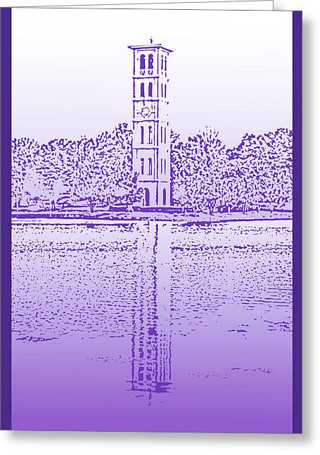 Furman Bell Tower Greeting Card