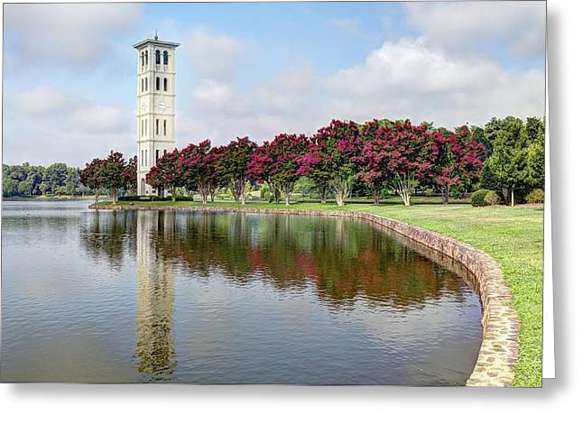 Furman University Greeting Card by Steven Faucette