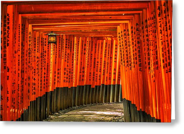 Fushimi Inari Greeting Card