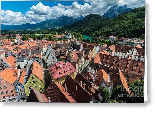 Fussen - Bavaria - Germany Greeting Card