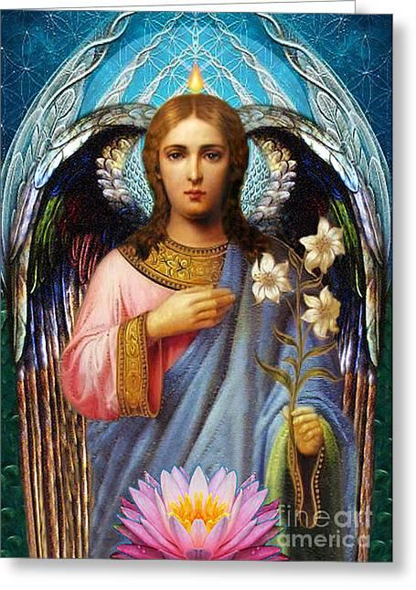 Gabriel The Archangel Greeting Card