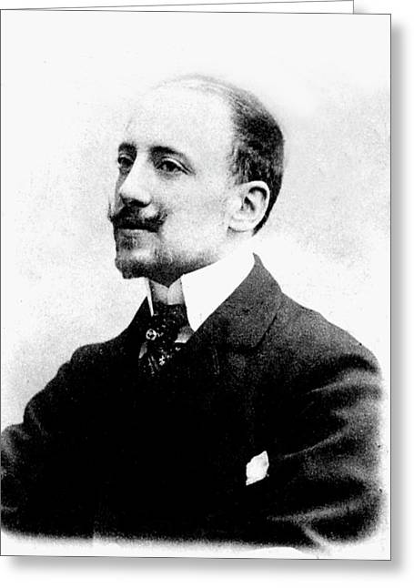 Gabriele D'annunzio Greeting Card by Collection Abecasis