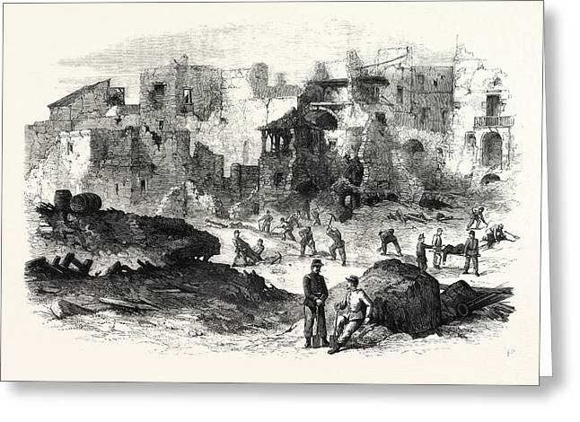 Gaeta Effects Of The Explosion Of The Powder-magazine Greeting Card