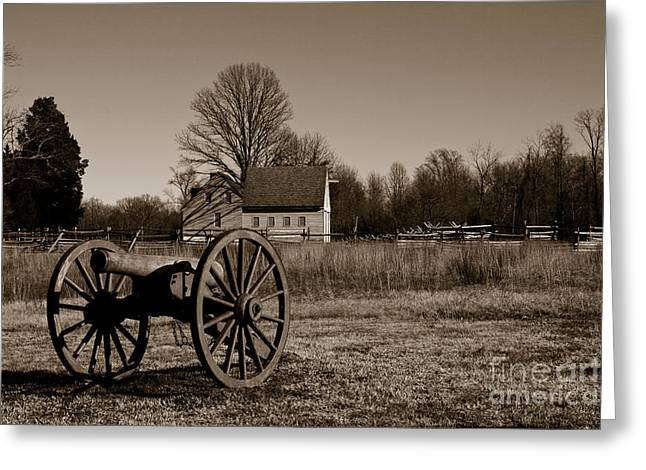 Gaines Mill Greeting Card by Tim Wilson