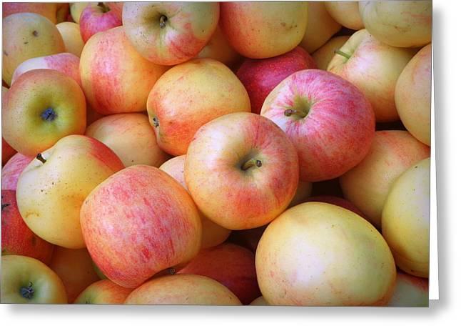 Greeting Card featuring the photograph Gala Apples by Joseph Skompski
