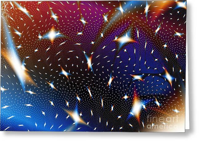 Galaxies Greeting Card