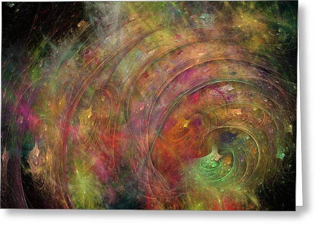 Galaxy 34g21a Greeting Card by Betsy Knapp
