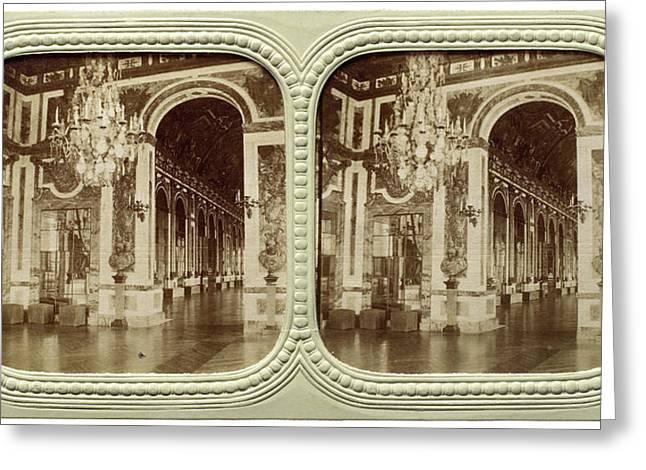 Galerie De La Guerre, Attributed To Florent Grau Greeting Card by Quint Lox