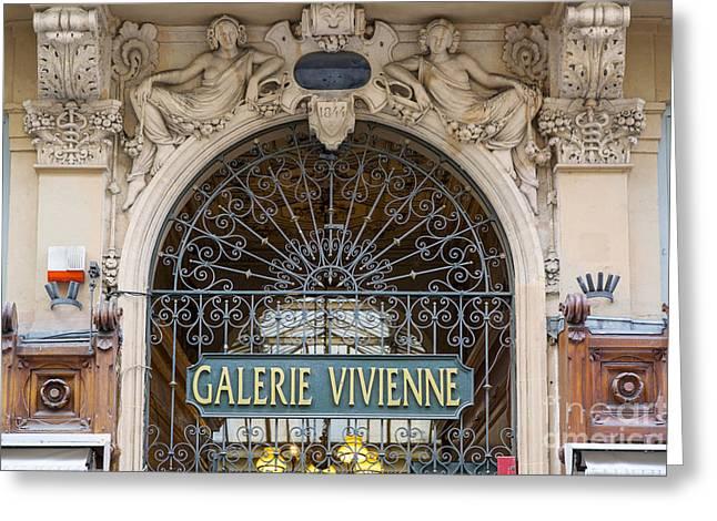 Galerie Vivienne Greeting Card