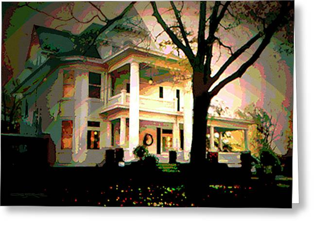 Galesburg House Greeting Card