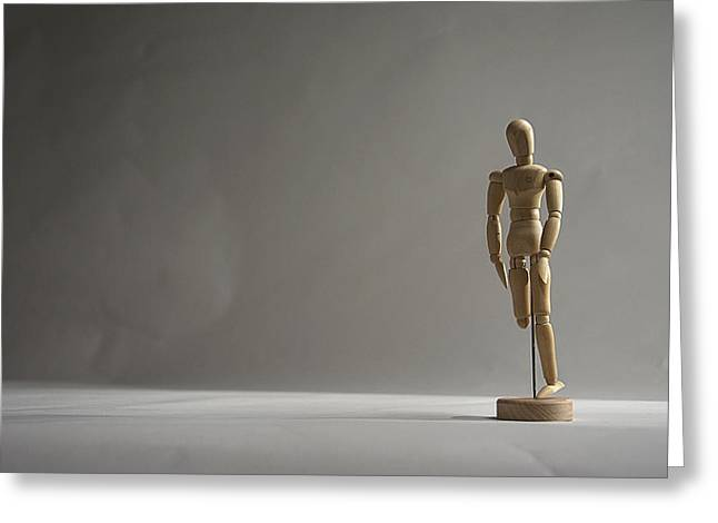 Gallant Mannequin II Greeting Card by Julian Riojas