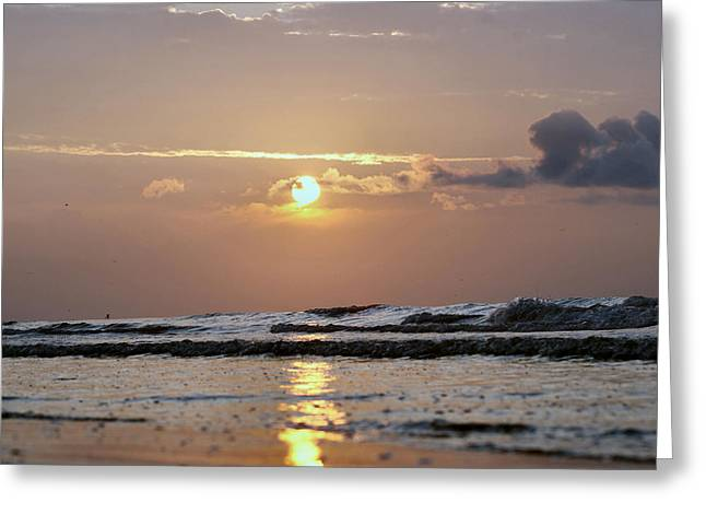 Galveston Island - Texas Greeting Card by Michael Davis