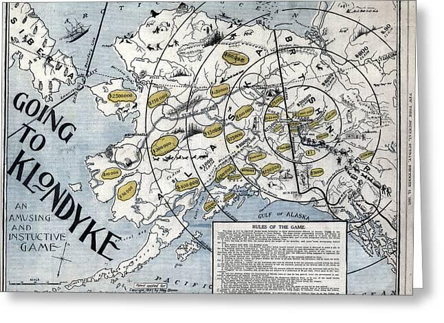 Game Alaska, 1897 Greeting Card by Granger