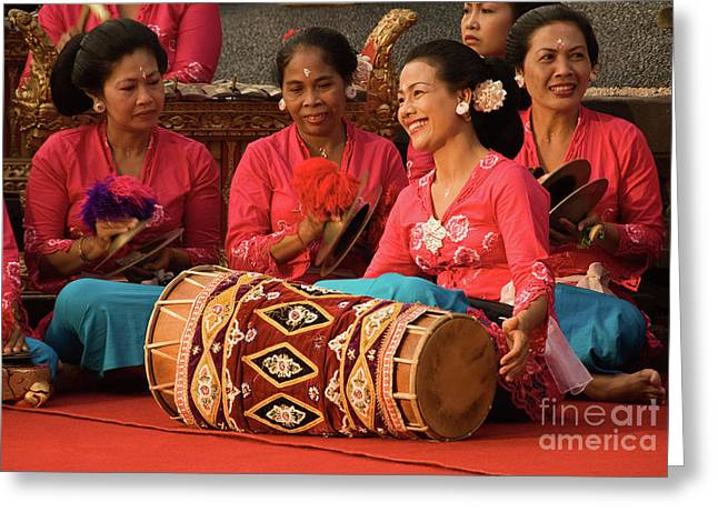 Gamelan 02 Greeting Card by Rick Piper Photography