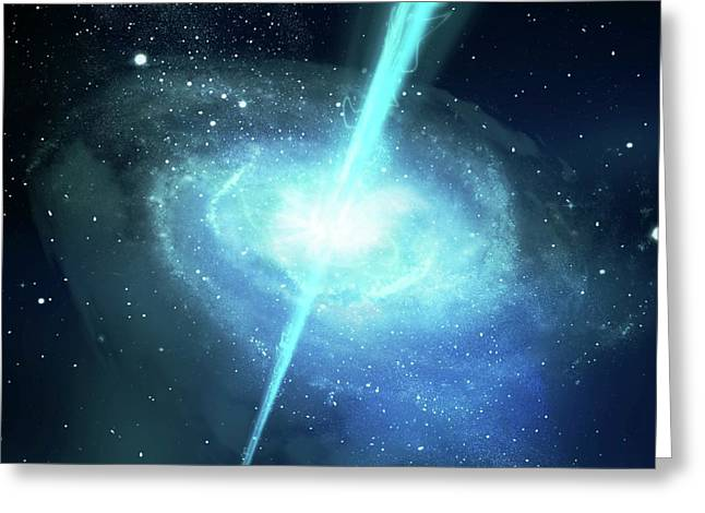 Gamma Ray Burst Greeting Card