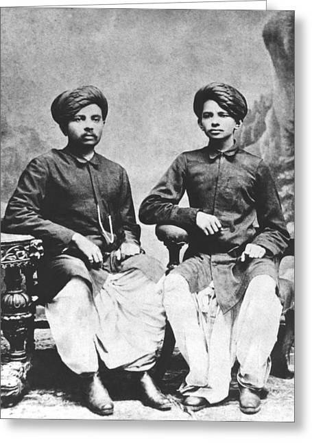 Gandhi Brothers Greeting Card