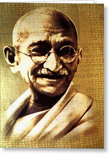 Gandhiji Greeting Card