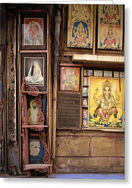 The Icons Of India Greeting Card by Shaun Higson
