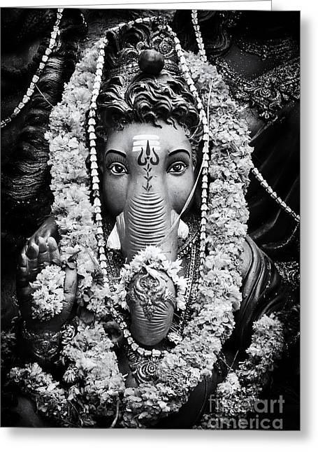 Ganesha Altar  Greeting Card by Tim Gainey
