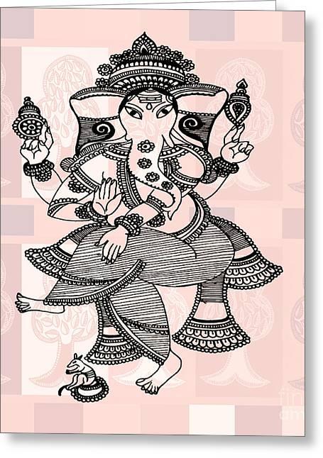Ganesha Greeting Card