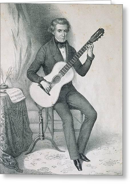 Garcia Aguado, Dionisio (1784-1849 Greeting Card