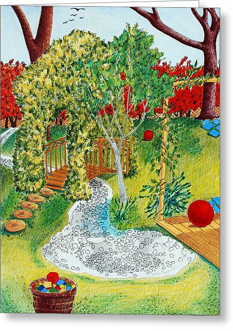 Garden # 1 Greeting Card