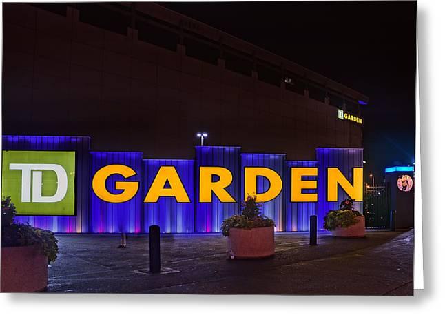 Garden 02 Greeting Card by Jeff Stallard