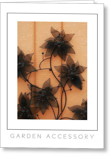 Garden Accessory Poster Greeting Card