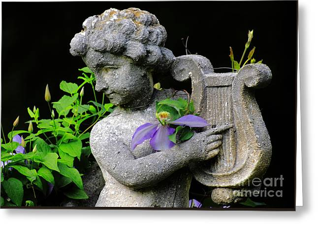 Garden Angel Greeting Card