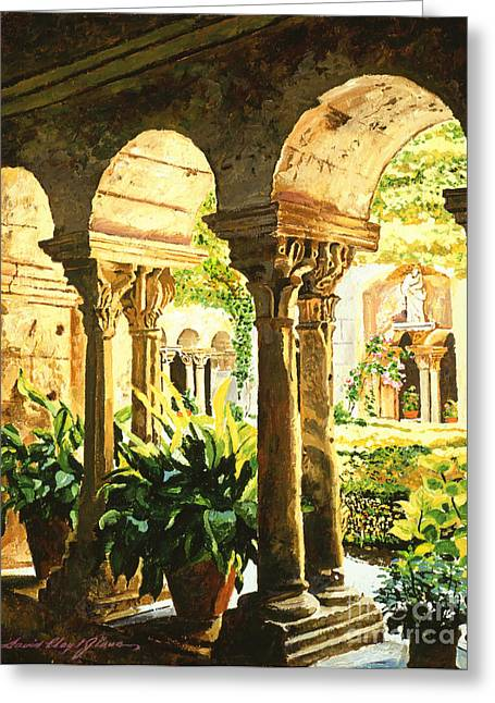 Garden At Saint Remy Provence Greeting Card