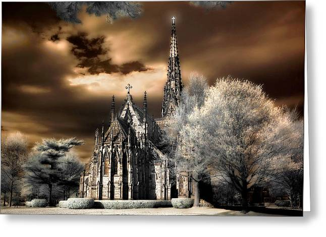 Garden City Cathedral #2 Greeting Card