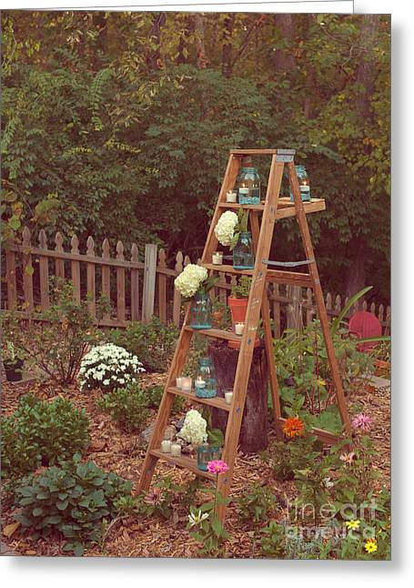 Garden Decorations Greeting Card by Kay Pickens