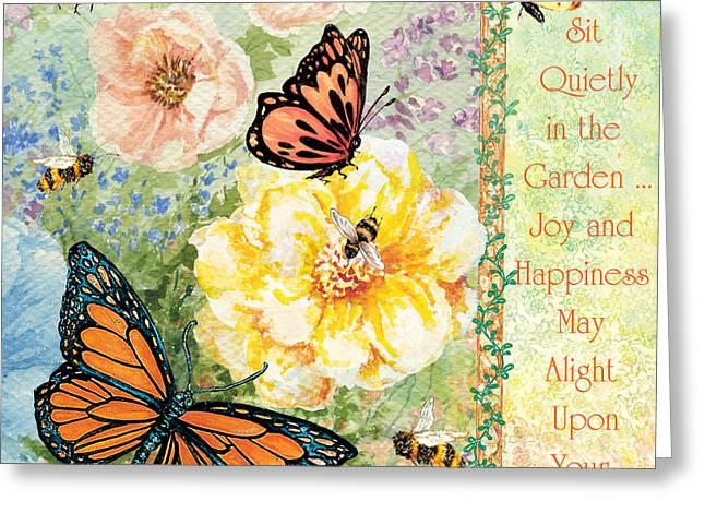 Garden Joy Greeting Card