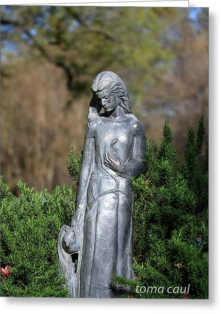 Garden Maiden Greeting Card