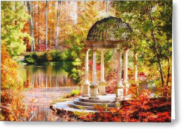 Garden Of Beauty Greeting Card