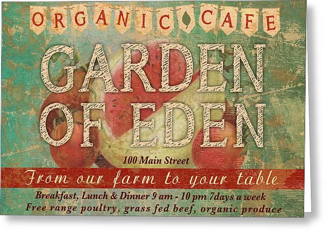 Garden Of Eden Greeting Card by Marilu Windvand
