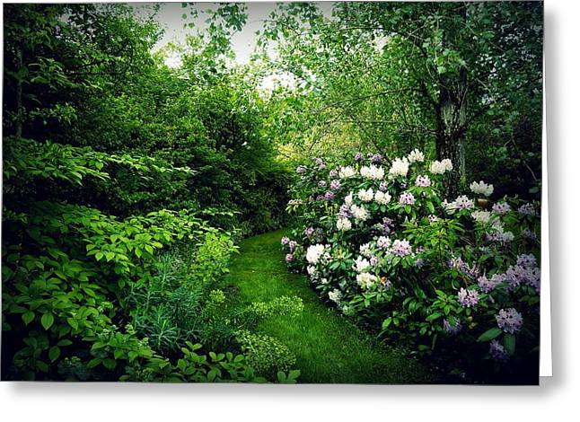 Garden Of Enchantment Greeting Card