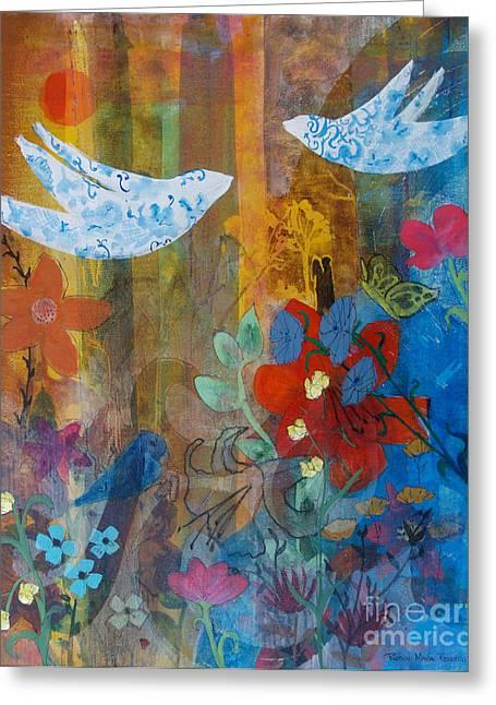 Garden Of Love Greeting Card